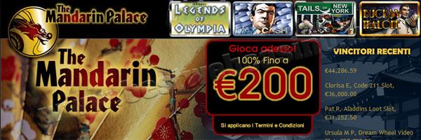 mandarin palace online casino