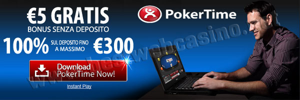 poker online senza deposito poker time