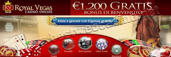 bonus casino online royal vegas