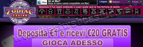 casino online italiani casino zodiac