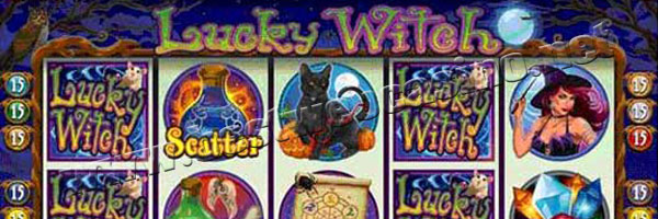 slot machine lucky witch