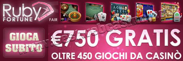 bonus free hour ruby fortune casino