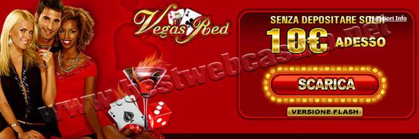 bonus senza deposito vegas red casino