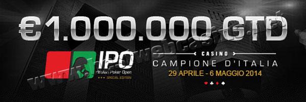 italian poker open 2014